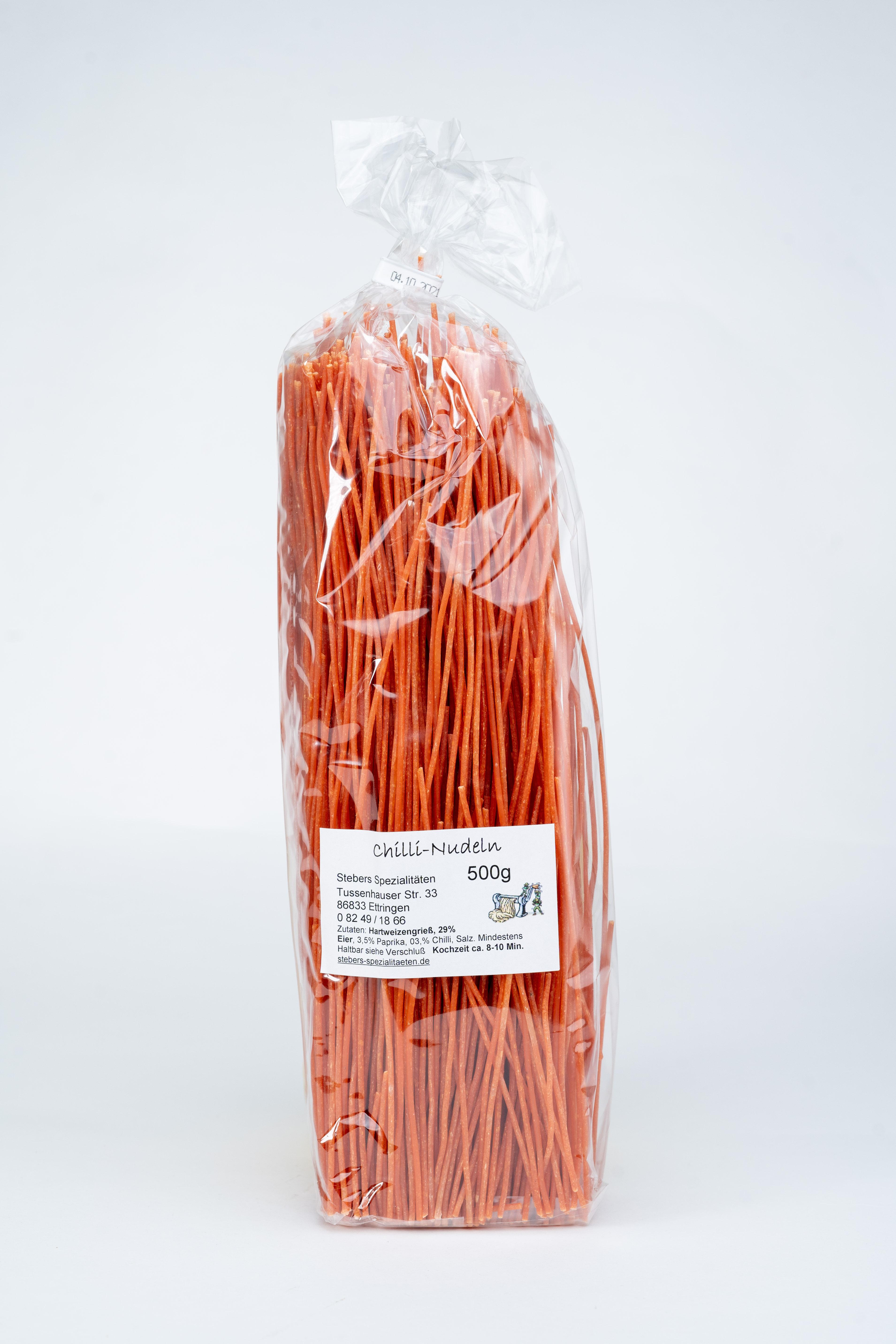 Chili-Spaghetti