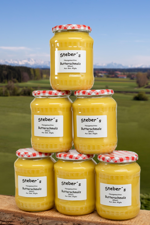 Steber`s Butterschmalz 6 x 600g