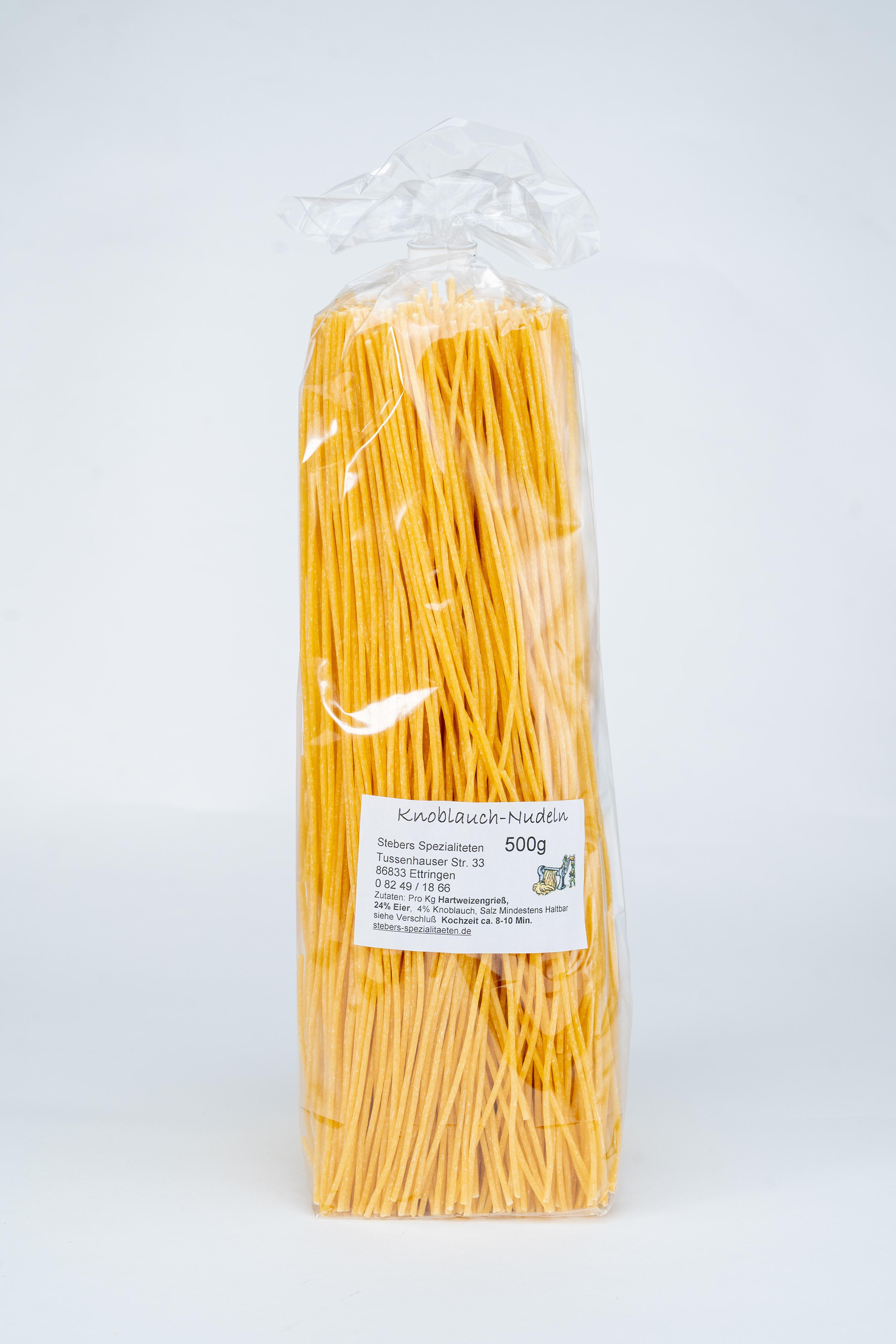 Knoblauch-Spaghetti